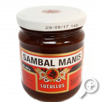 Fried Sambal with spices (mild/sweet), lucullus