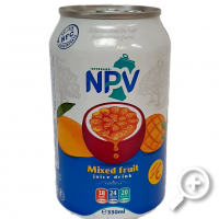 NPV Mixed Fruit Juice 330 ml, Lucullus