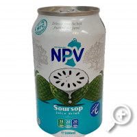 NPV Soursop Fruit Juice 330 ml, Lucullus