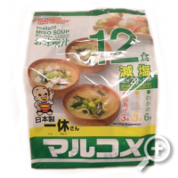 """Instant Miso soup, """"Marukome"""" Family-pack, lucullus"""