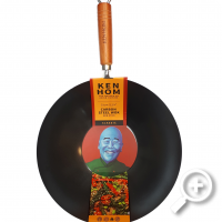 Steelwok Ken Hom Classic 31 cm, Non-stick, Ceramic, Electric, Gas, Halogen, The master of asian cuisine, Lucullus