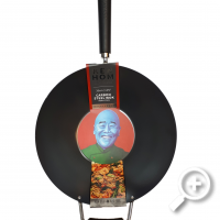 Steelwok Ken Hom Excellence 35 cm, Non-stick, Ceramic, Electric, Gas, Halogen, Induction, The master of asian cuisine, Lucullus